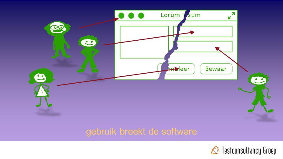 Lorum Ipsum BewaarAnnuleer gebruik breekt de software @rudiniemeijer #noordertest