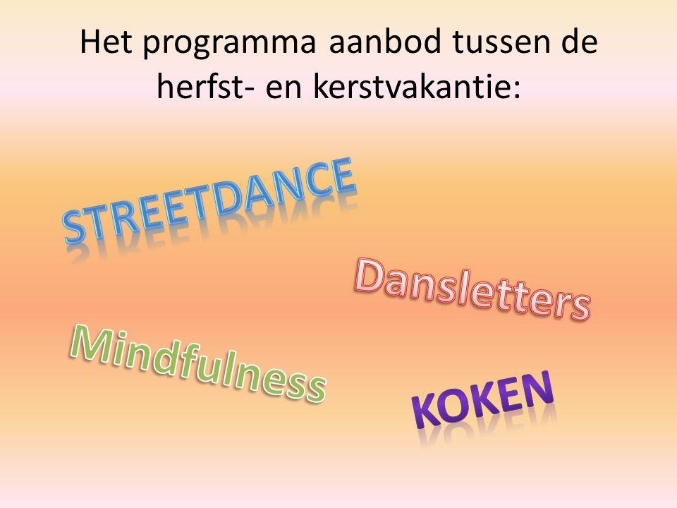 Kom je ook meedoen met de stoere streetdance lessen.
