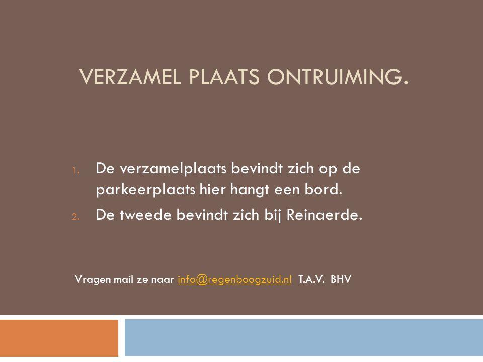 VERZAMEL PLAATS ONTRUIMING.1.