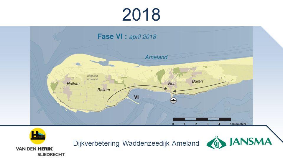 2018 Dijkverbetering Waddenzeedijk Ameland