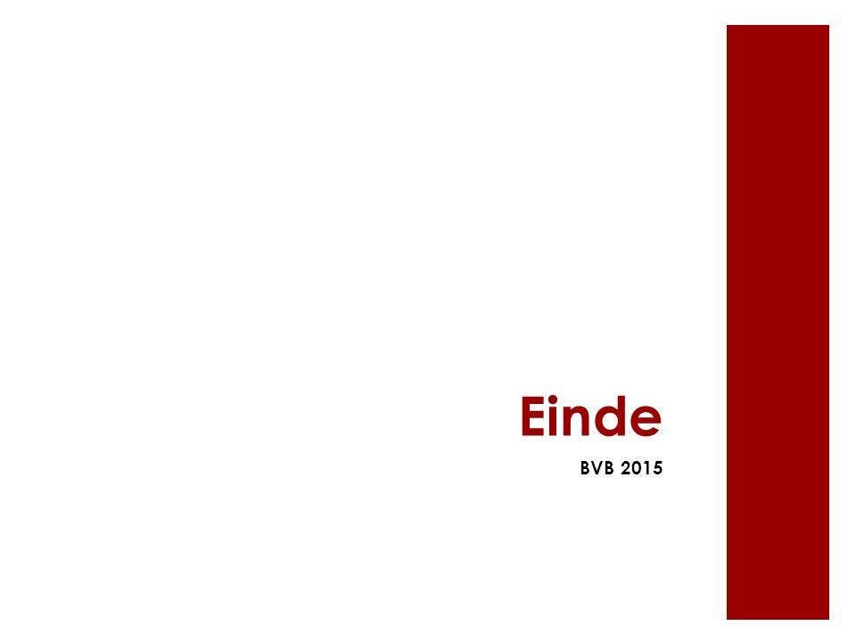 Einde BVB 2015