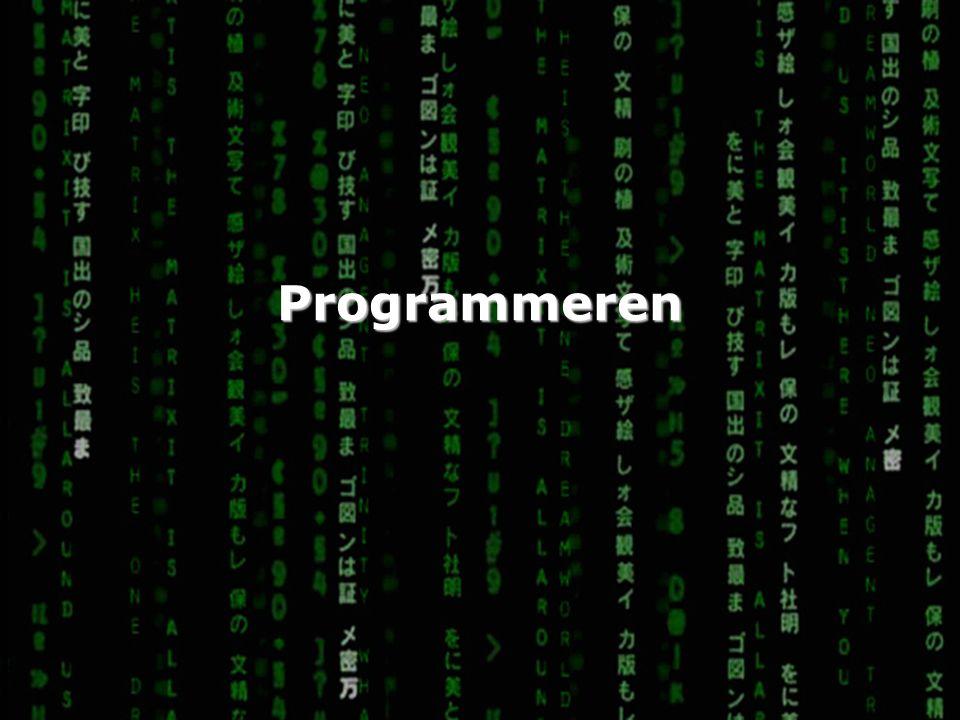 Wat is programmeren.
