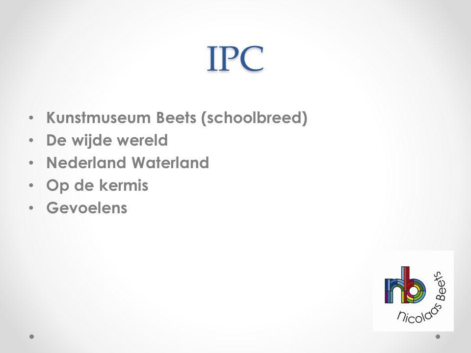 IPC Kunstmuseum Beets (schoolbreed) De wijde wereld Nederland Waterland Op de kermis Gevoelens