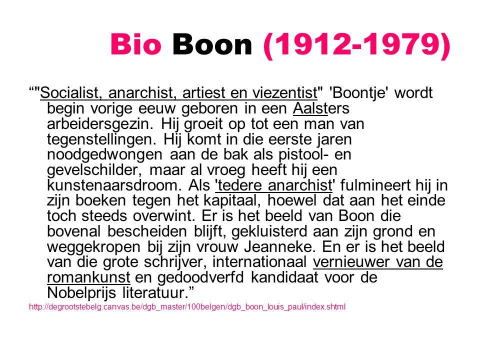 Louis Paul Boon Mieke Maaike's obscene jeugd (1972) Eén van de boeken die Boon de reputatie van viezentist bezorgde [zie ook de rel rond de tentoonstelling van de Fenominale Feminateek]