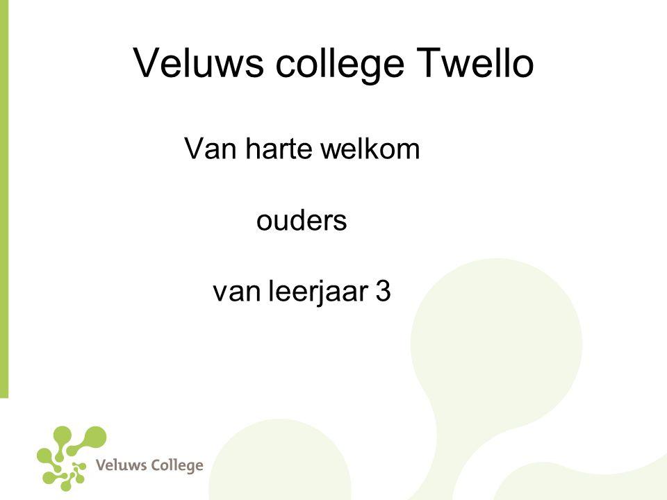 Veluws college Twello Van harte welkom ouders van leerjaar 3