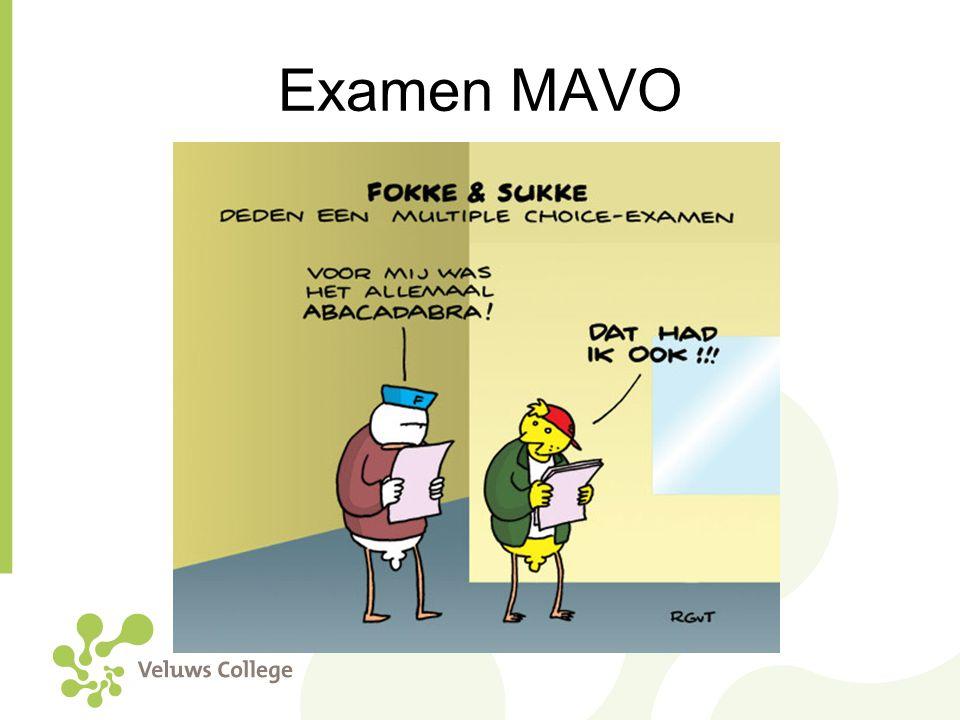 Examen MAVO
