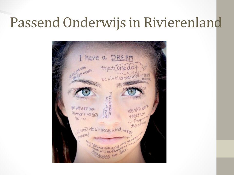 Passend Onderwijs in Rivierenland