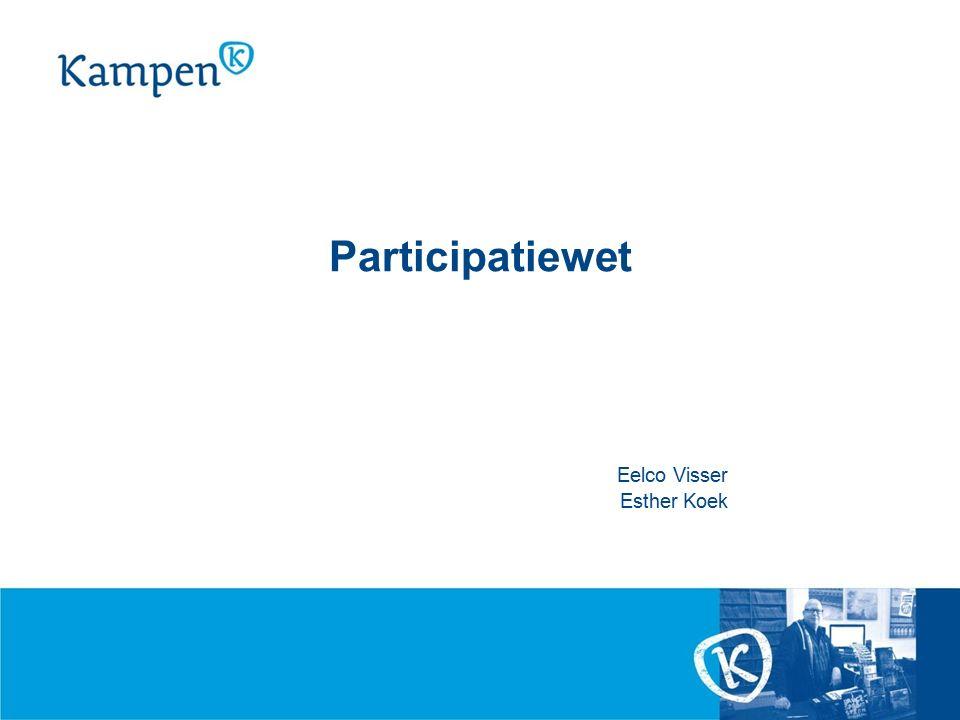 Participatiewet Eelco Visser Esther Koek