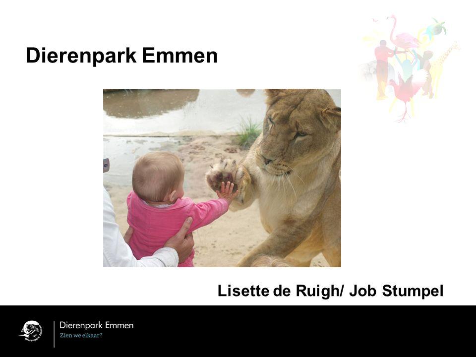 Dierenpark Emmen Lisette de Ruigh/ Job Stumpel