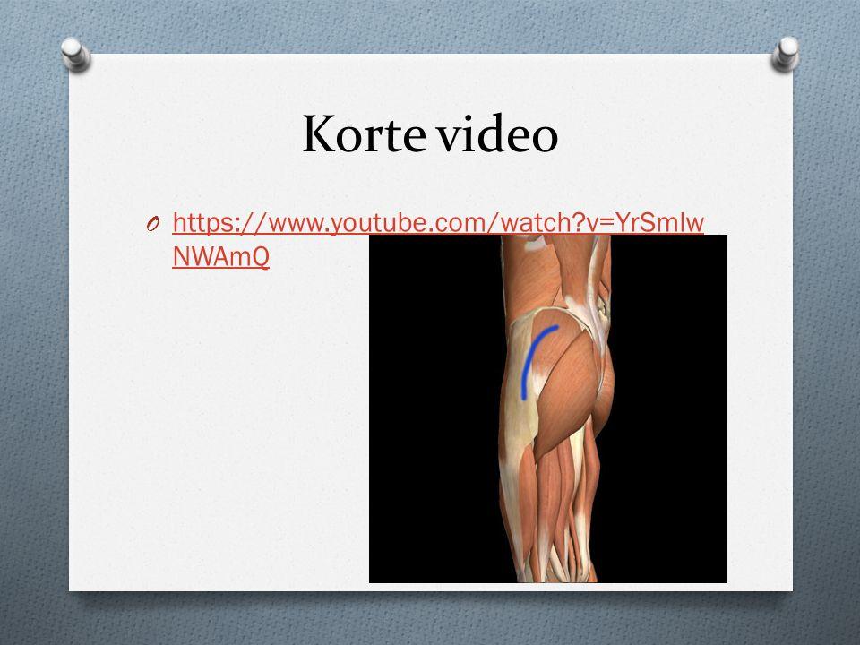 Korte video O https://www.youtube.com/watch?v=YrSmlw NWAmQ https://www.youtube.com/watch?v=YrSmlw NWAmQ