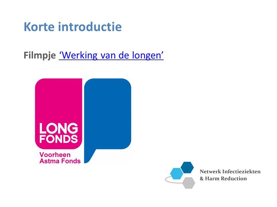 Korte introductie Filmpje 'Werking van de longen''Werking van de longen'