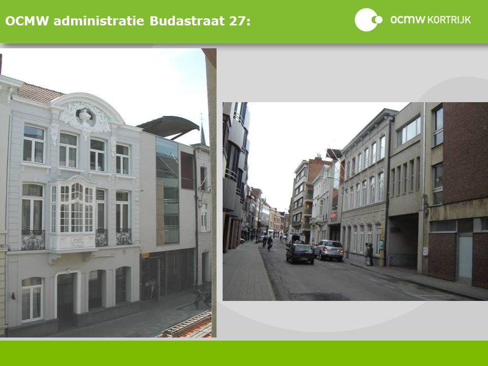 OCMW administratie Budastraat 27: