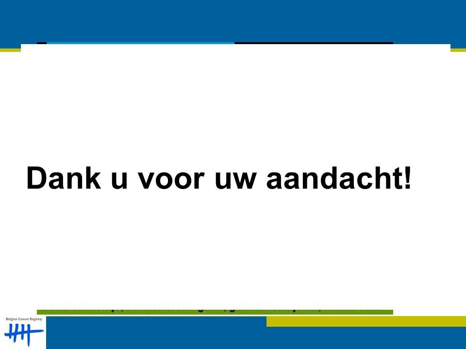 Dank u voor uw aandacht!