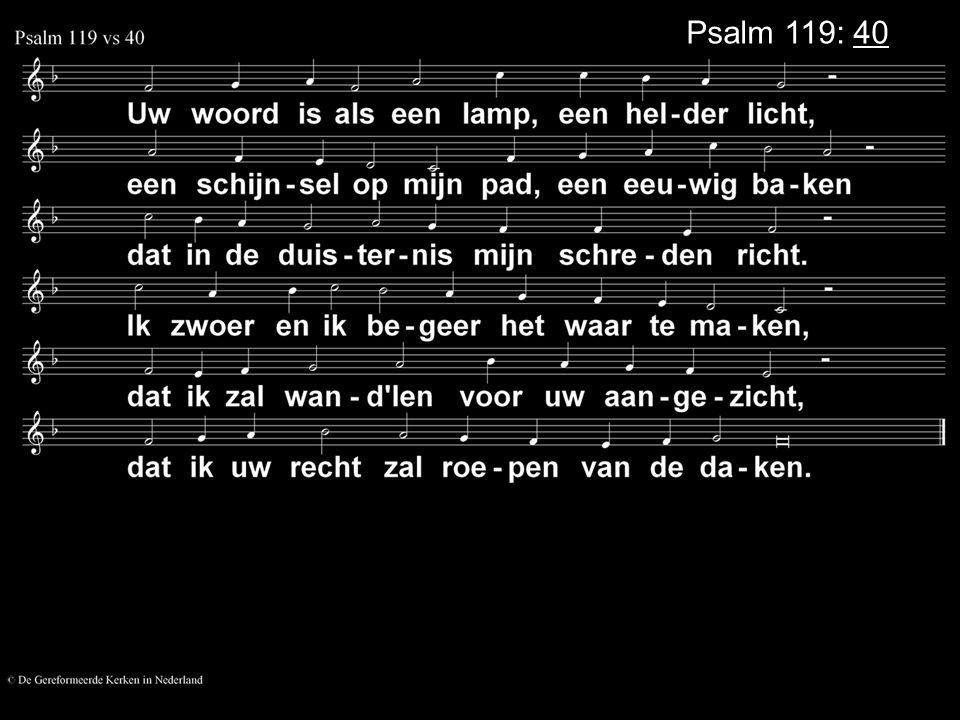 .... COLLECTE Volgende Week Is de collecte voor de Kerk Na de collecte zingen we: Gezang 118