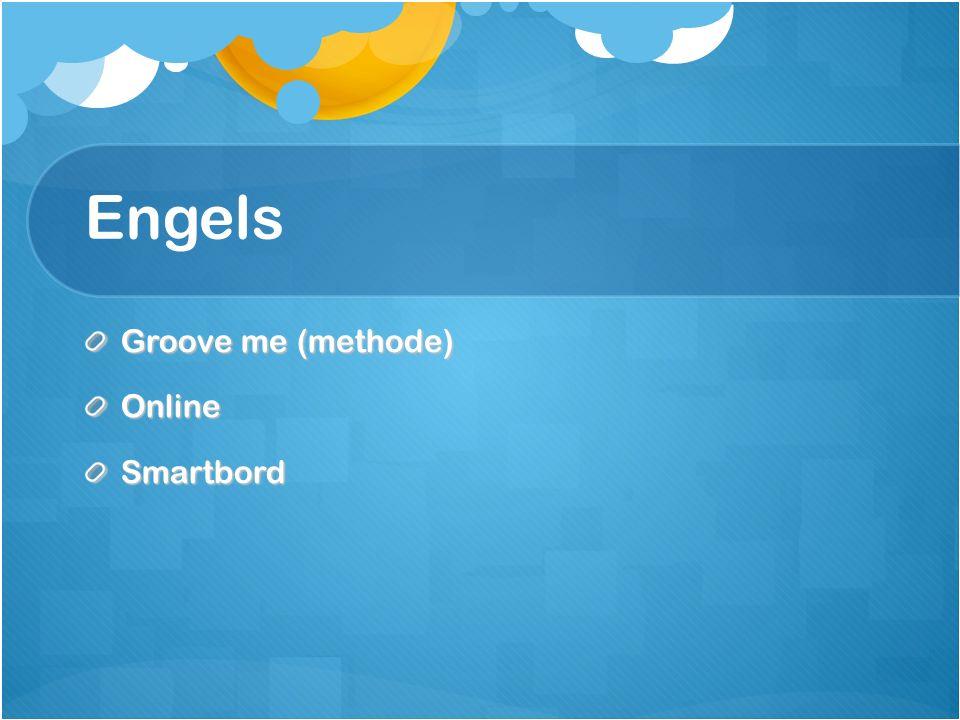 Engels Groove me (methode) Online Smartbord