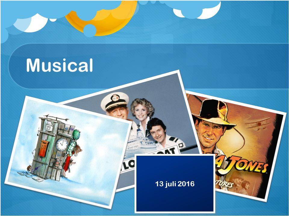 Musical 13 juli 2016