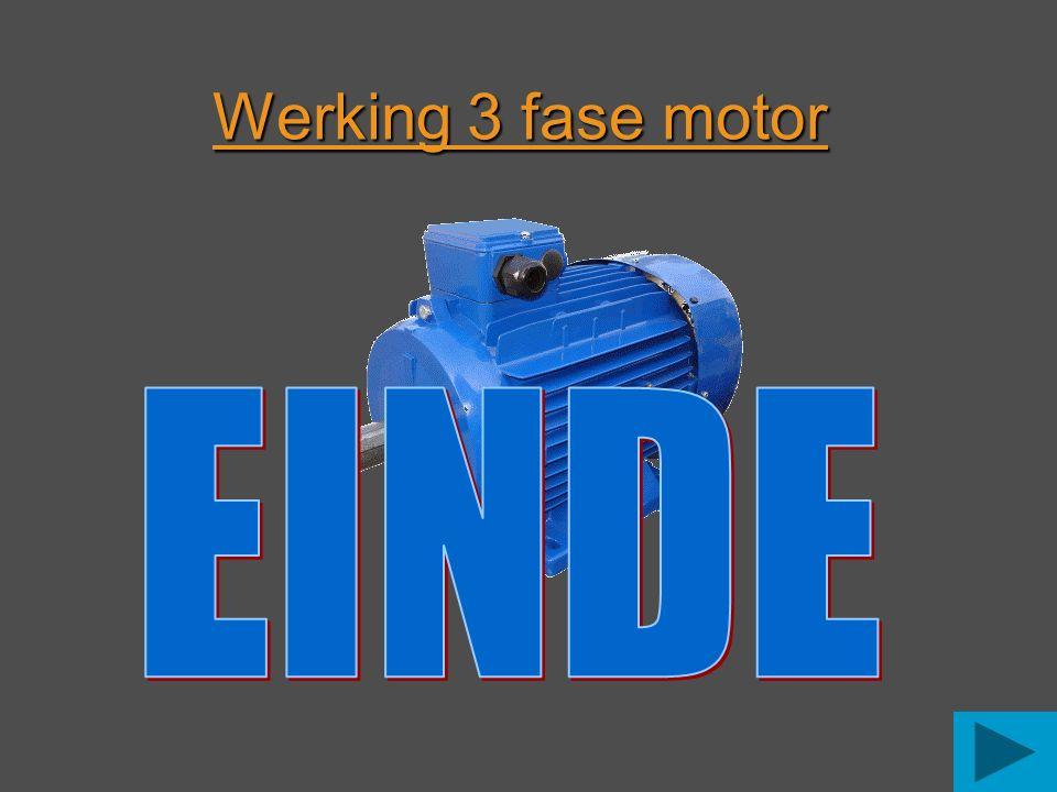 Werking 3 fase motor