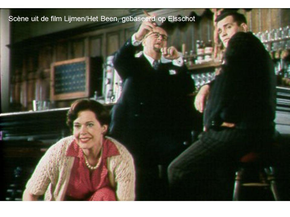 Scène uit de film Lijmen/Het Been, gebaseerd op Elsschot