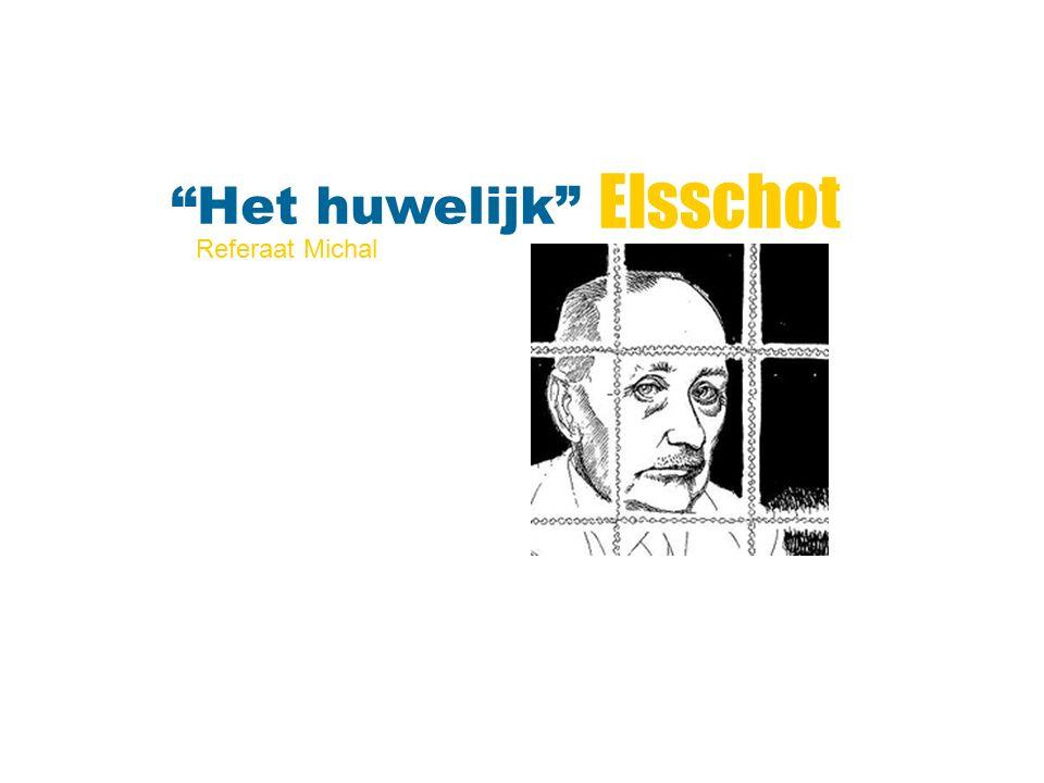 """Elsschot """"Het huwelijk"""" Referaat Michal"""