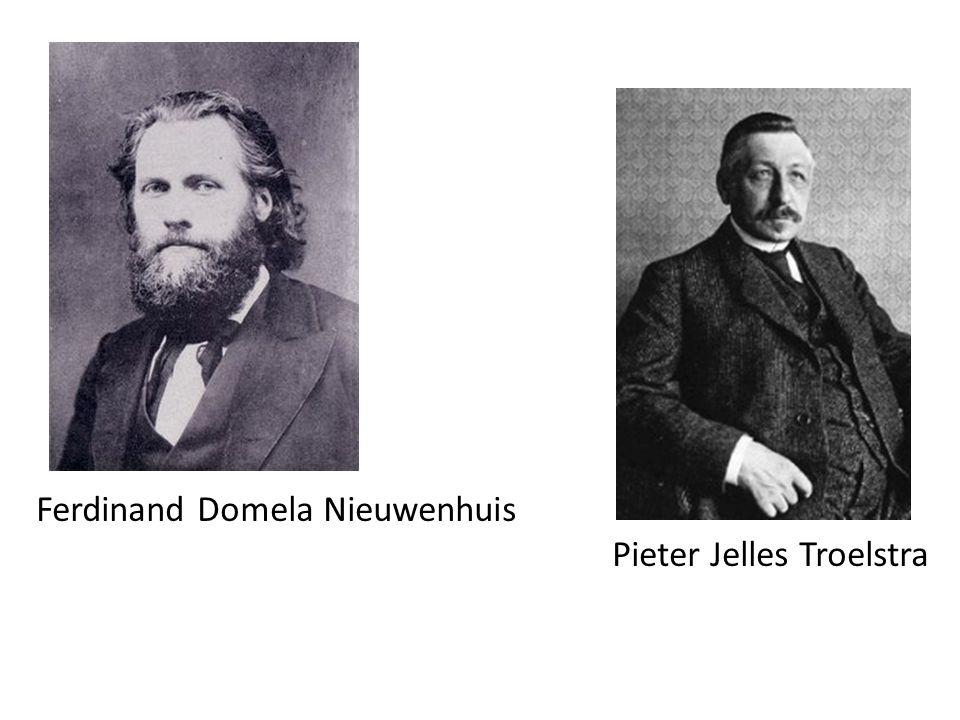 Ferdinand Domela Nieuwenhuis Pieter Jelles Troelstra