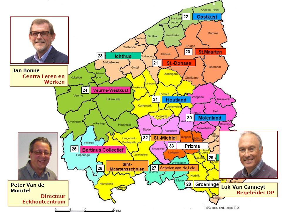 inhoud St.-Michiel 32 Scholen aan de Leie 27 Veurne-Westkust Bertinus Collectief Sint- Maartensscholen 24 26 25 Prizma 33 Groeninge 28 Ichthus 23 St.-