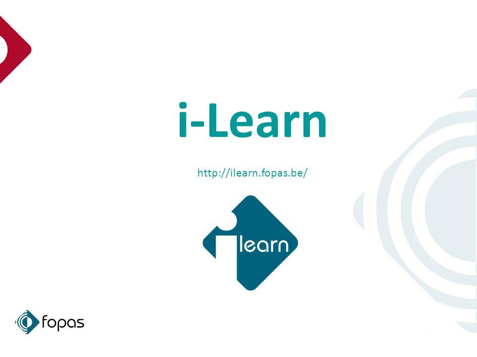 1 i-Learn http://ilearn.fopas.be/