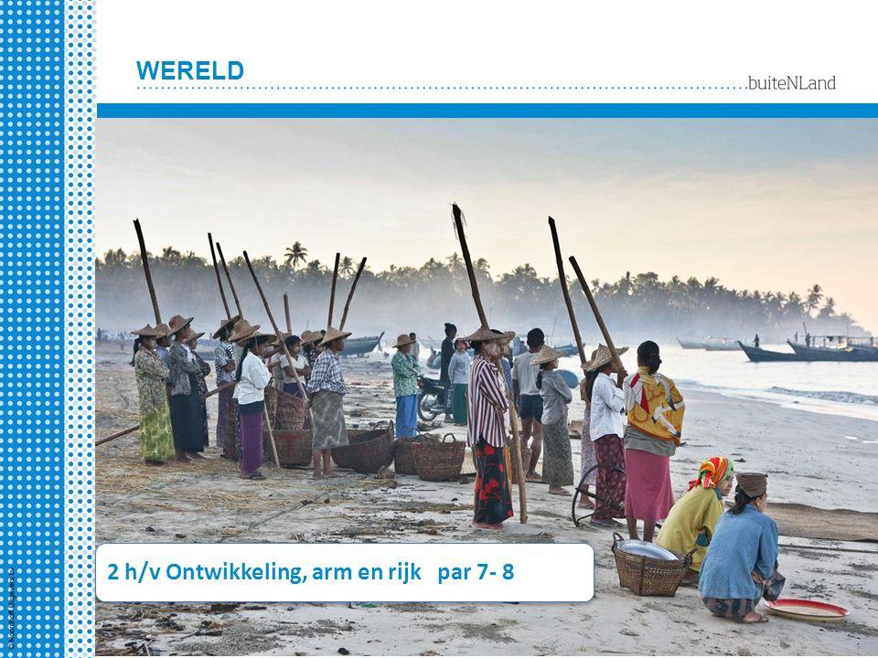 WERELD 2 h/v Ontwikkeling, arm en rijk par 7- 8