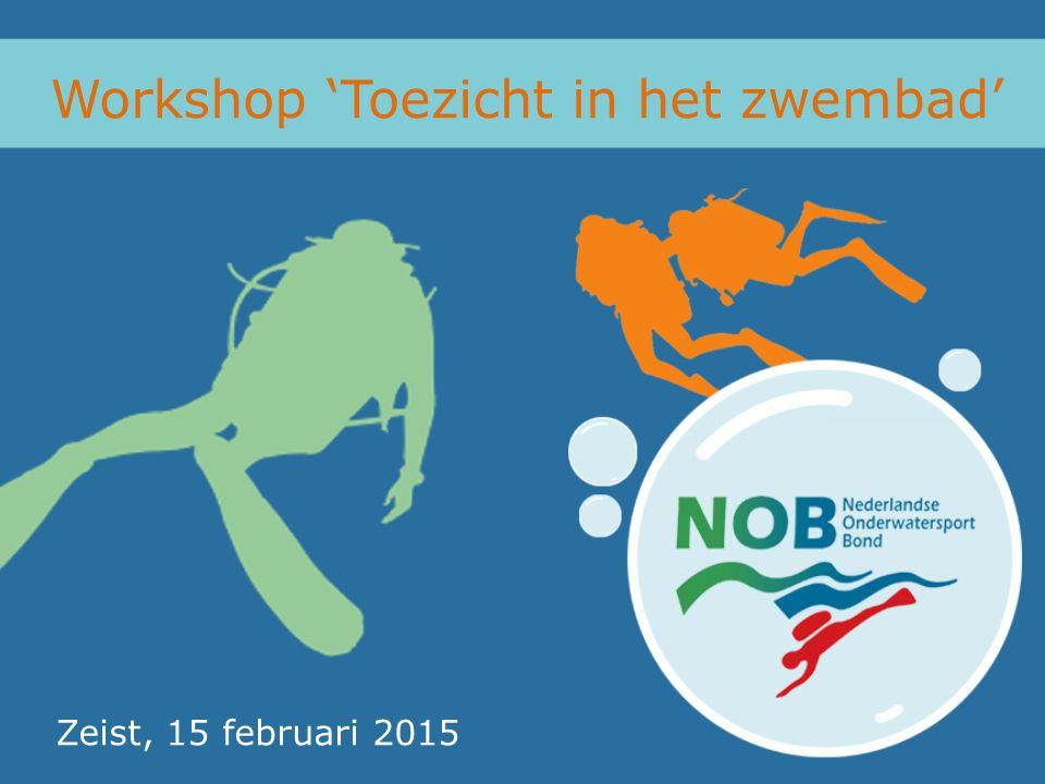 Workshop 'Toezicht in het zwembad' Zeist, 15 februari 2015