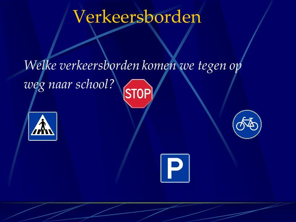 Verkeersborden Wat betekenen deze verkeersborden.