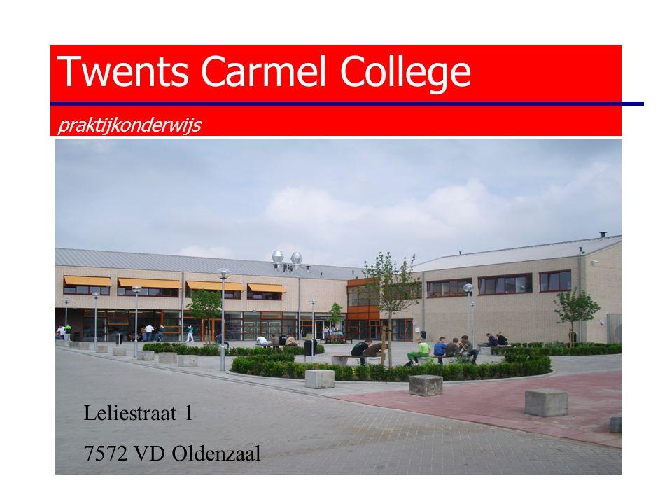 Leliestraat 1 7572 VD Oldenzaal Twents Carmel College praktijkonderwijs
