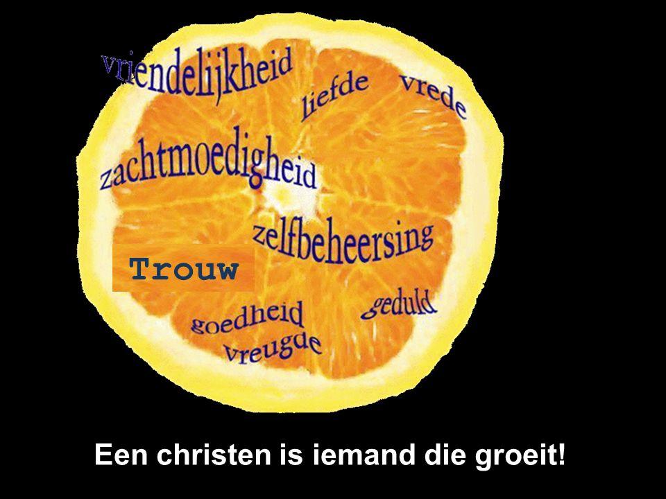Trouw Een christen is iemand die groeit!