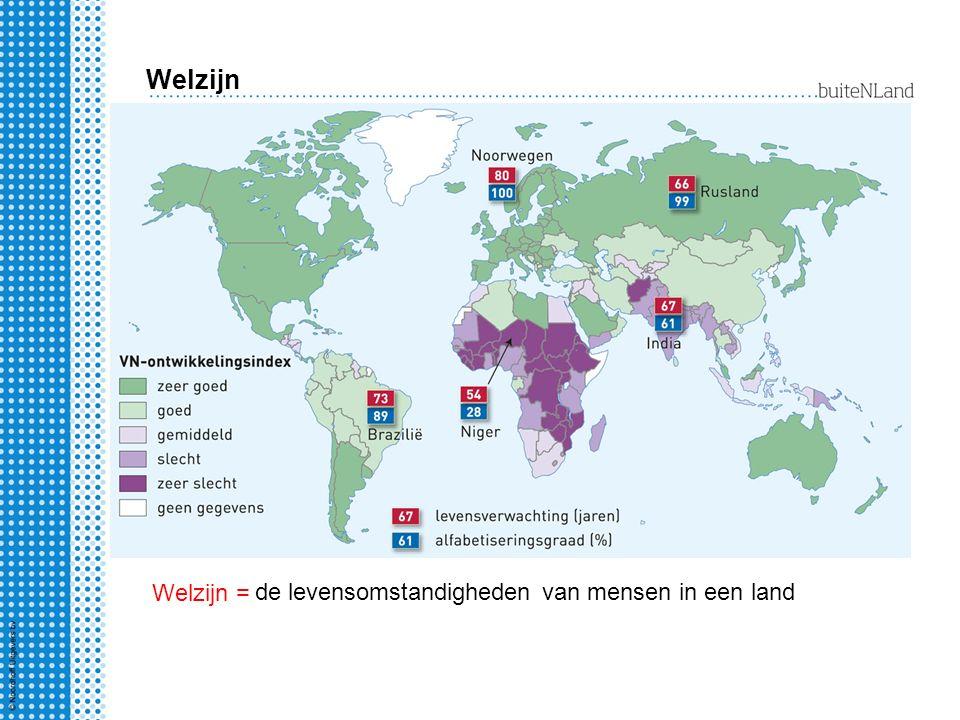 Welzijn meten 1.hoe oud worden de mensen gemiddeld.