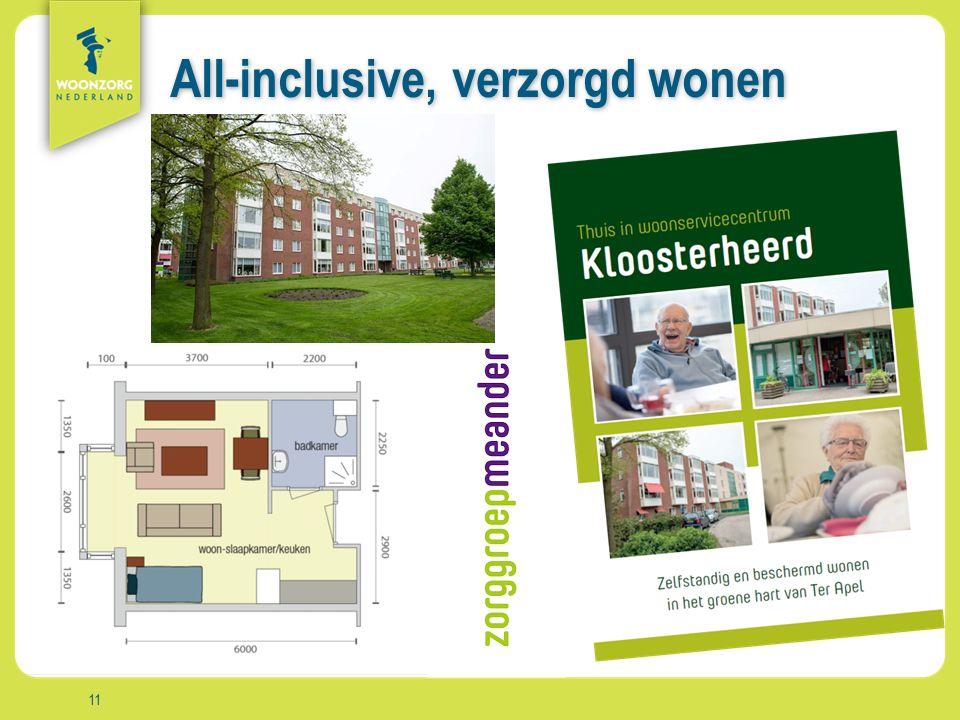 Woonzorg Zekerheid Samenzijn Rust Comfort Vrijheid Aanpak All-inclusive, verzorgd wonen 11
