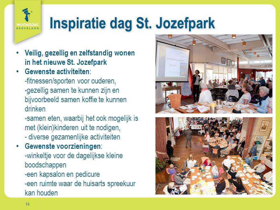 Woonzorg Zekerheid Samenzijn Rust Comfort Vrijheid Aanpak Inspiratie dag St.