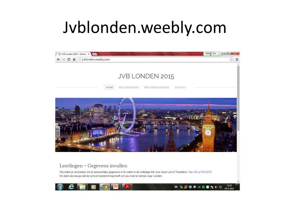 Traveller's List http://bit.ly/1MVQt78 Voor maandag invullen s.v.p.!!