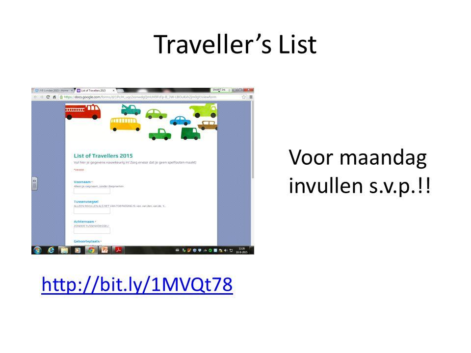 Kopie Paspoort/ID + Zorgpas + Contract Deze uiterlijk maandag inleveren bij Dhr.