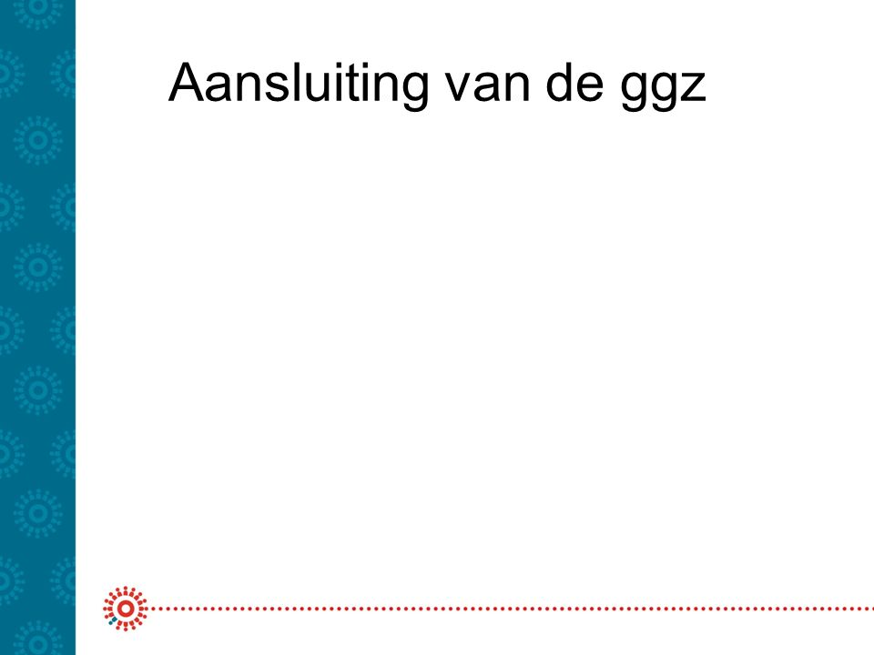 Aansluiting van de ggz