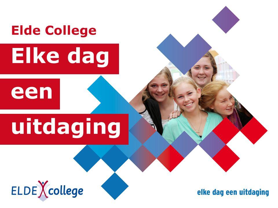 Elke dag een uitdaging Elde College