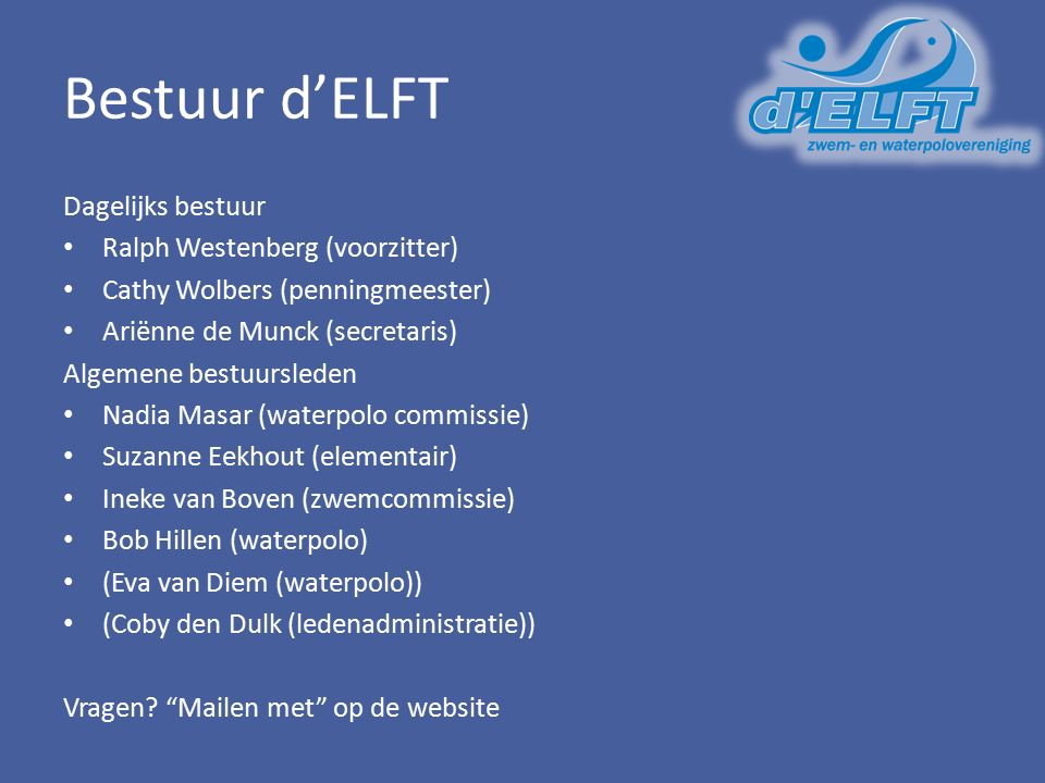d'ELFT 3-5: SprintSalo Hogere intensiteit en minder kilometers