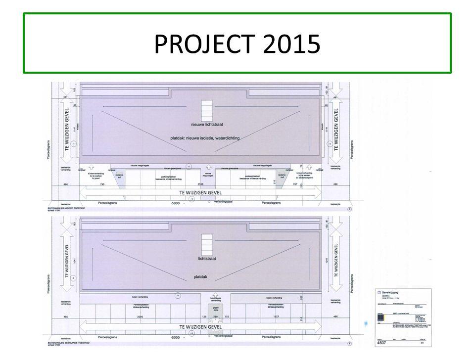 KADASTERPLAN o Sectie A nummer 108 G o Oppervlakte van : 6.457 m² o 12 buitenparkeerplaatsen o Beschikbaar vanaf 2015 (renovatie voorgevel, herorganisatie + indeling in verschillen units)