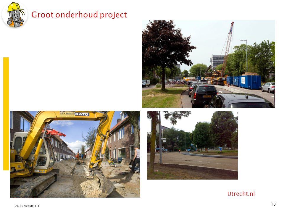 Utrecht.nl Groot onderhoud project 10 2015 versie 1.1