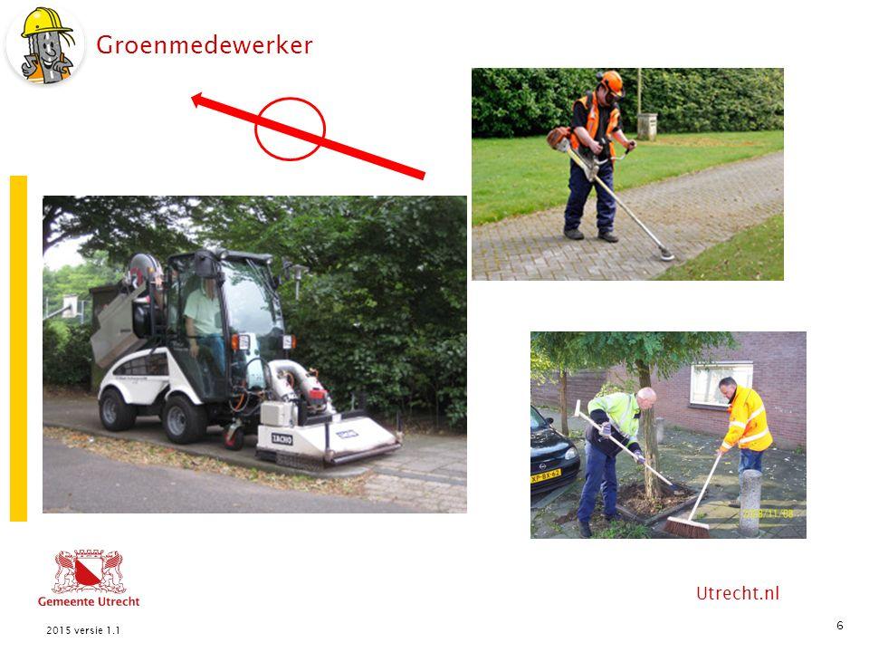 Utrecht.nl Groenmedewerker 6 2015 versie 1.1
