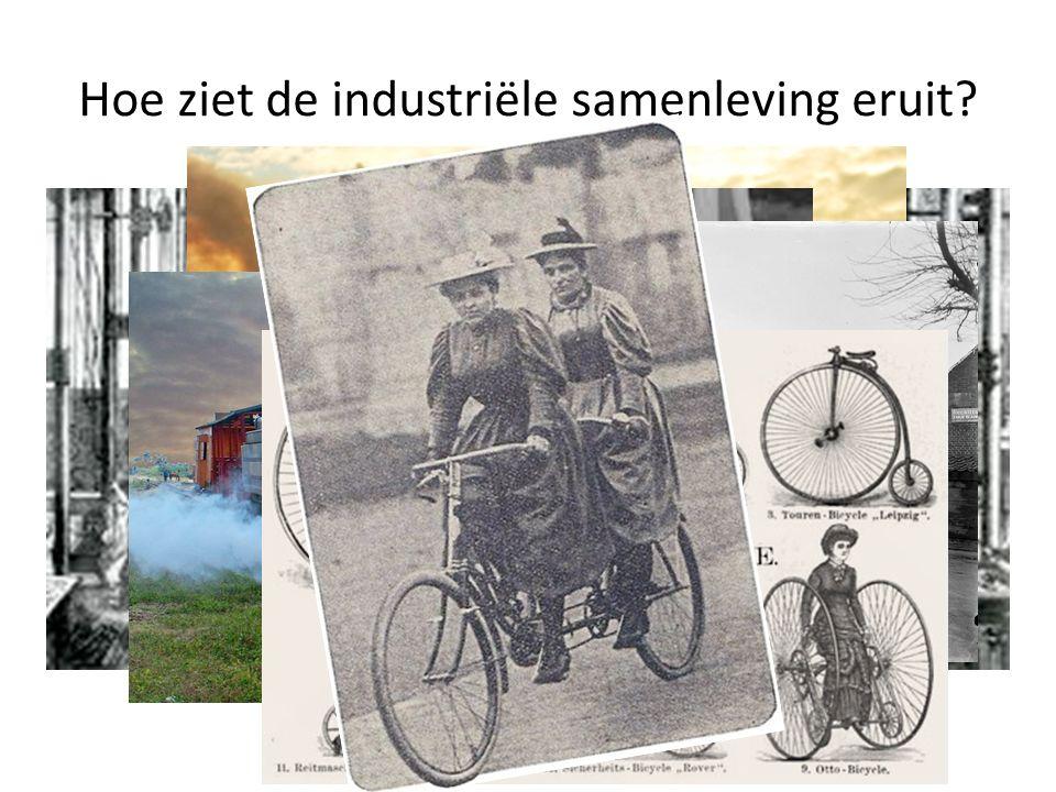 Hoe ziet de industriële samenleving eruit?