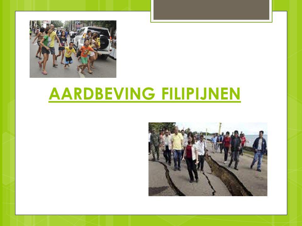 AARDBEVING FILIPIJNEN