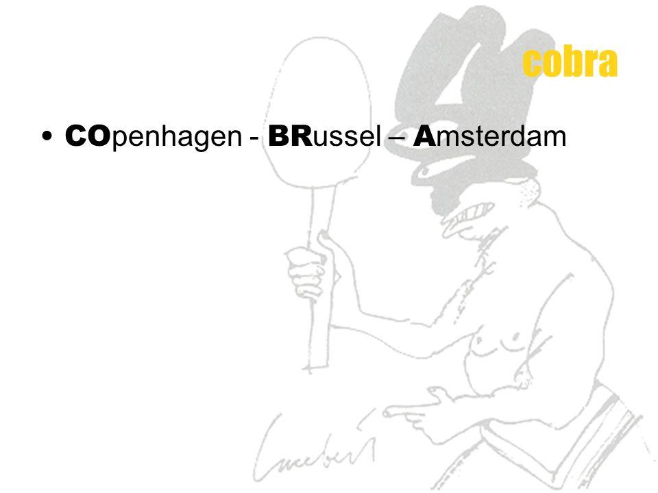 CO penhagen - BR ussel – A msterdam