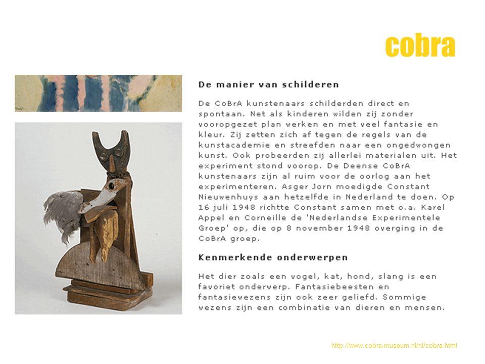 cobra http://www.cobra-museum.nl/nl/cobra.html