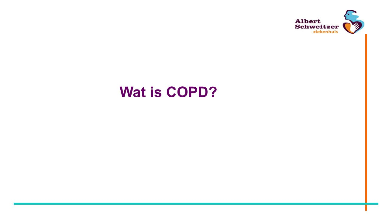 COPD CARA Chronische Aspecifieke Respiratoire Aandoeningen Astma COPD Chronic Obstructive Pulmonary Disease Chronische bronchitis longemfyseem