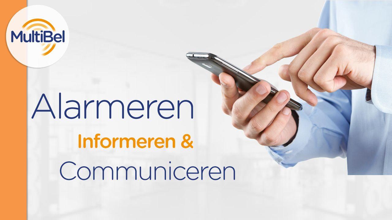 Wat is MultiBel.MultiBel is een alarmerings- en communicatiedienst.