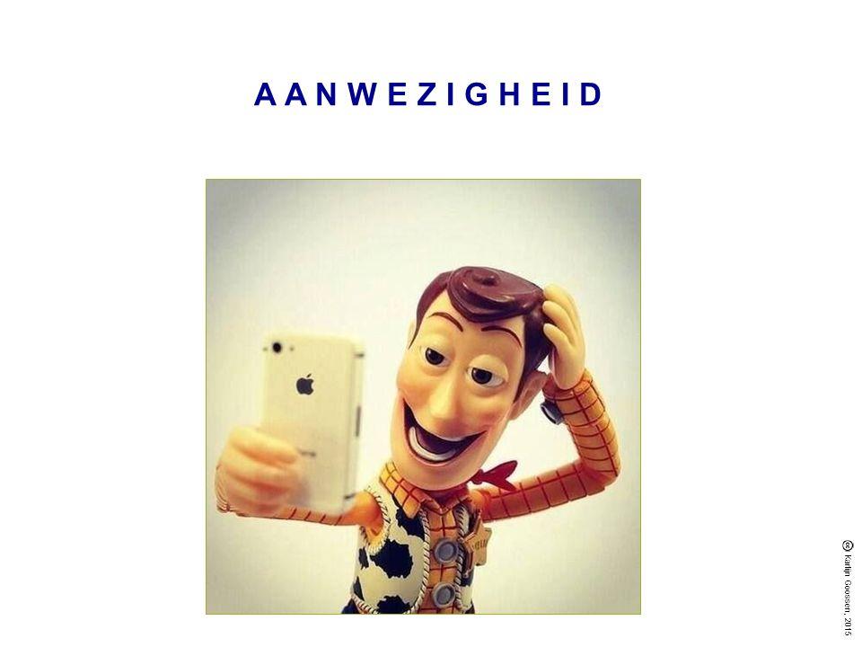 AANWEZIGHEID Karlijn Goossen, 2015