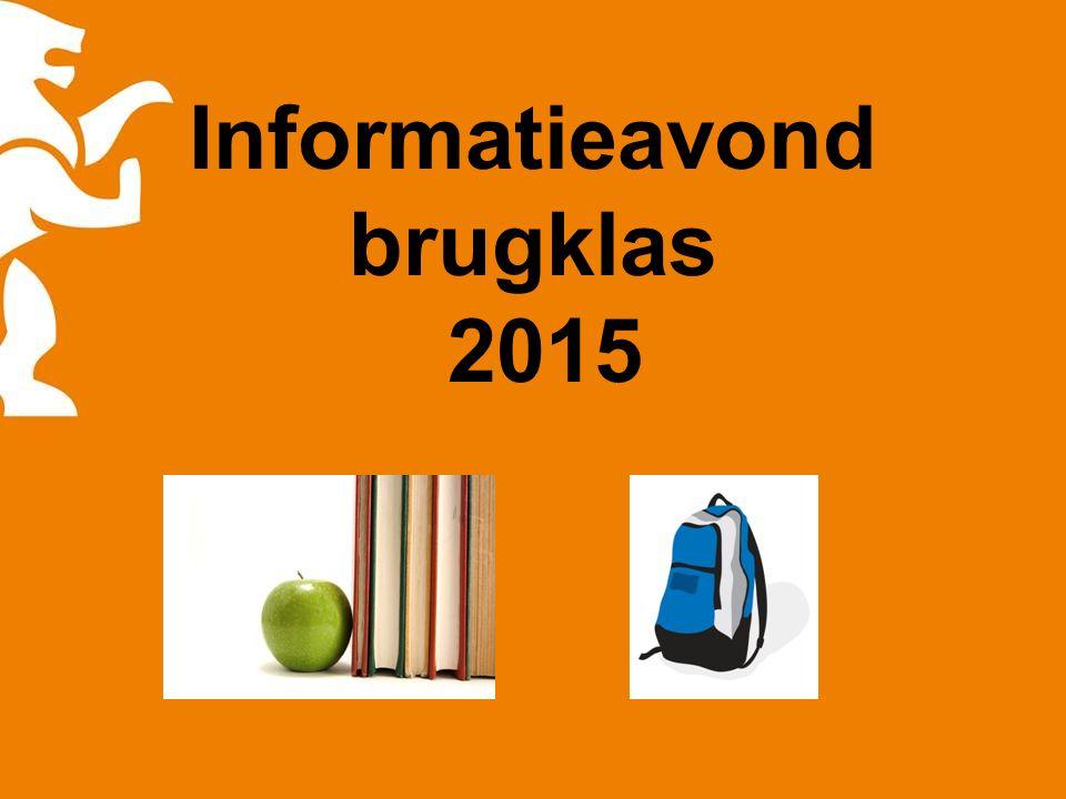 Informatieavond brugklas 2015